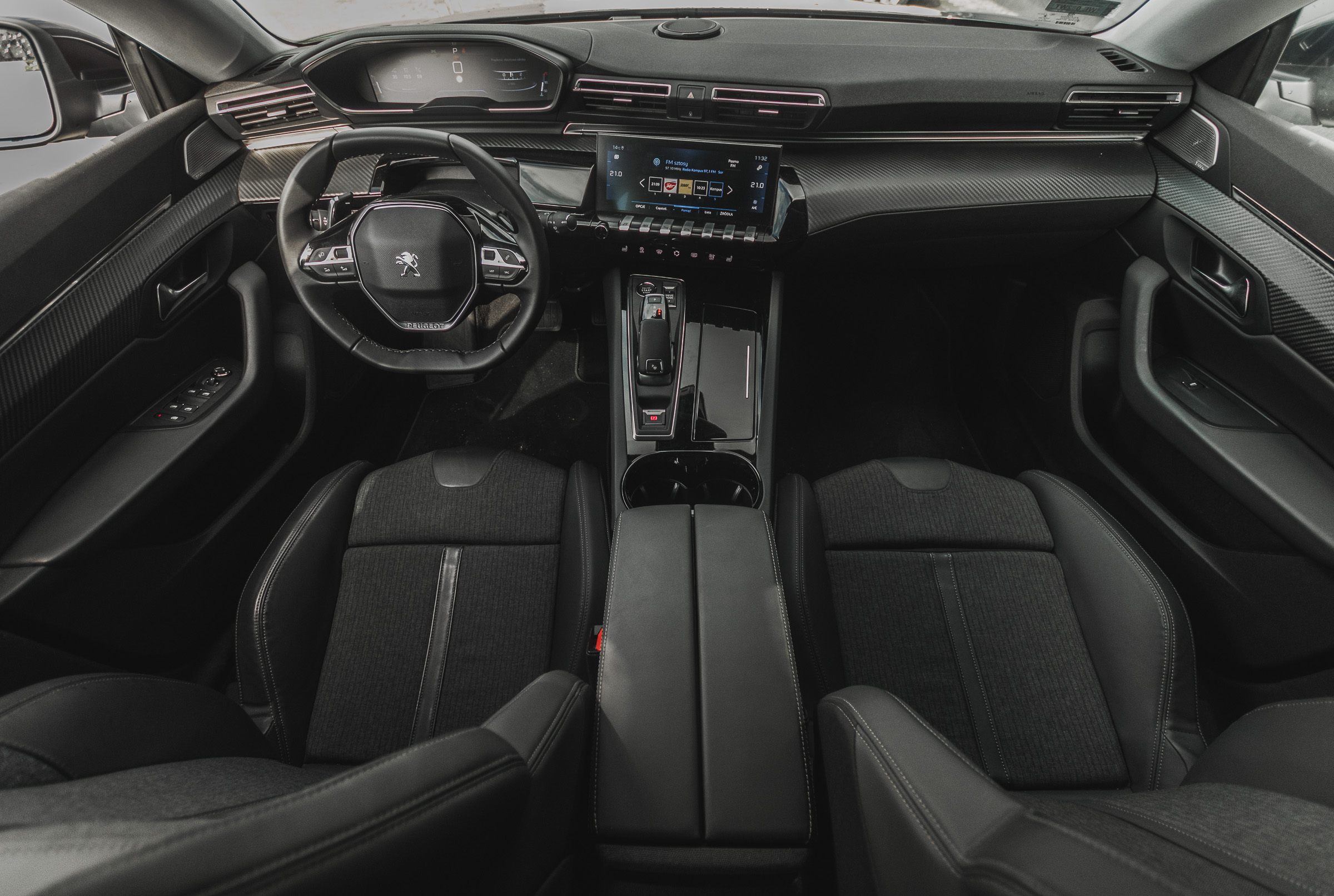 Peugeot 508 SW test 2019