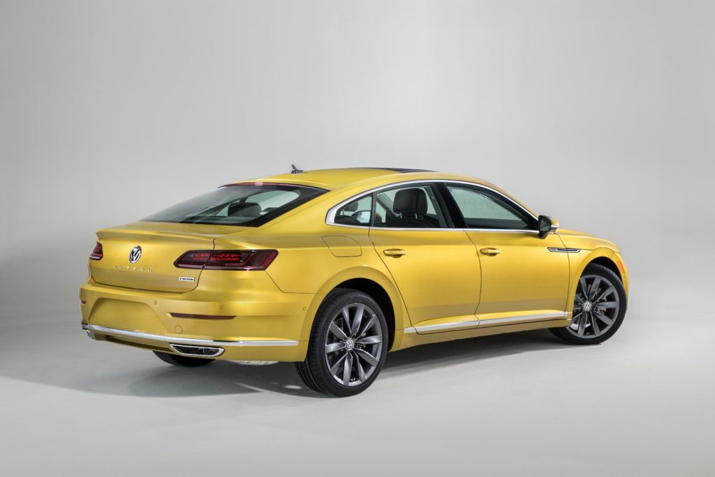 Volkswagen Arteon światła LED