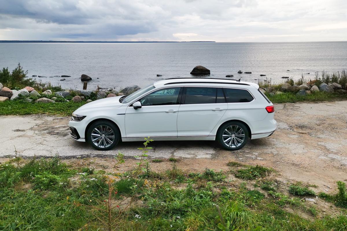 VW Passat GTE lifting