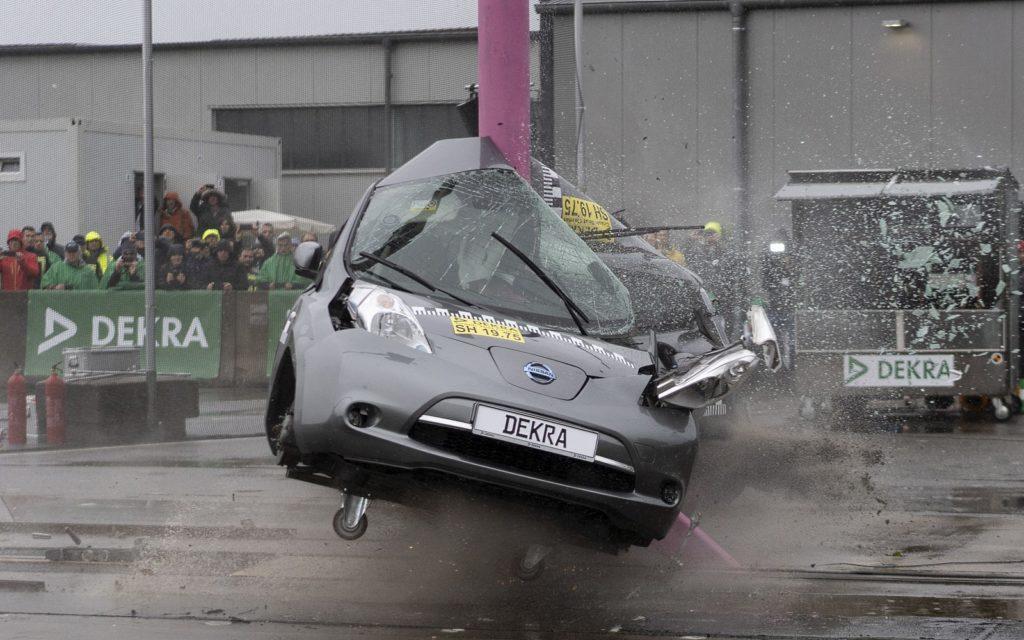 Nissan Leaf crash test