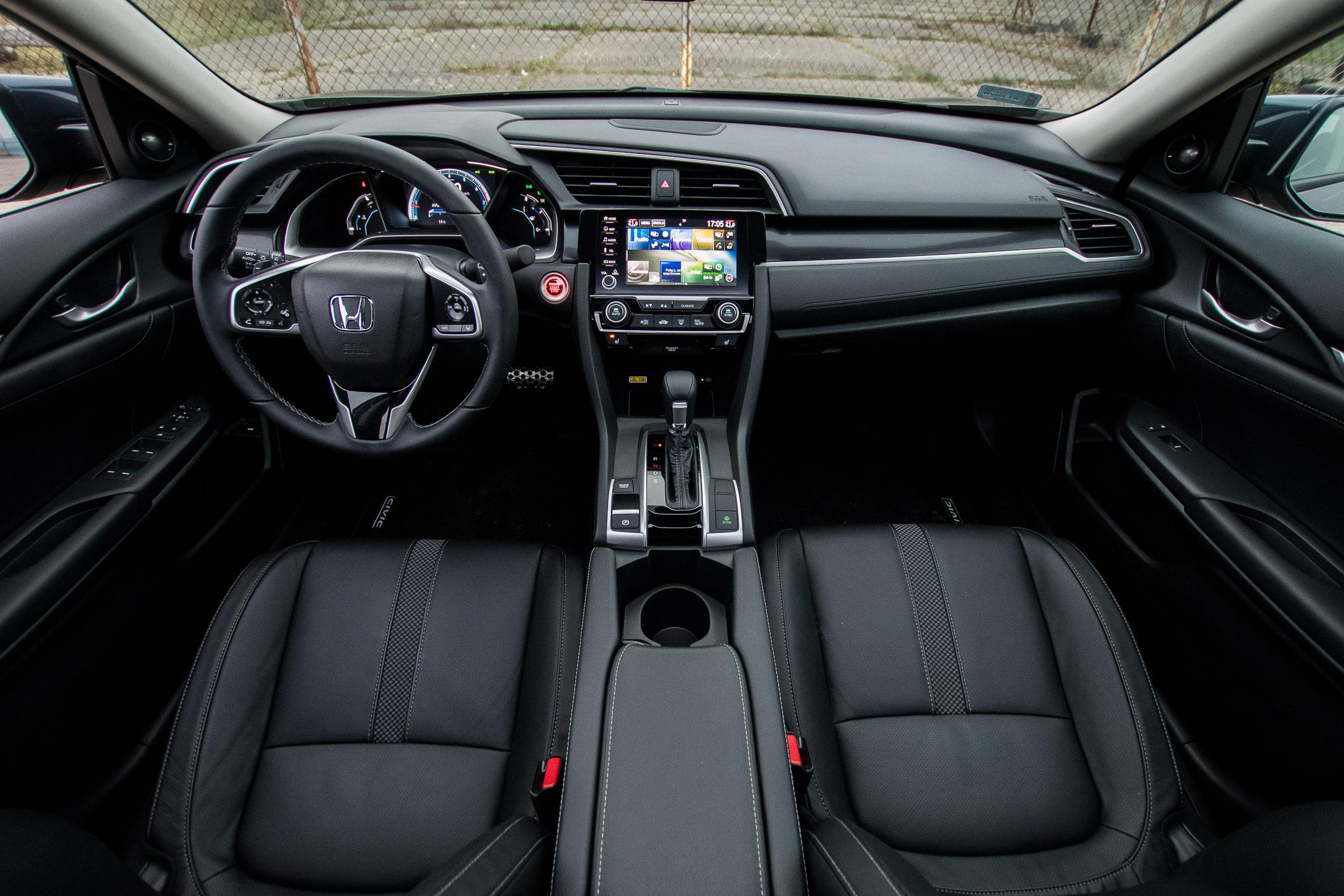 Honda Civic 1.5 turbo lifting 2019 test