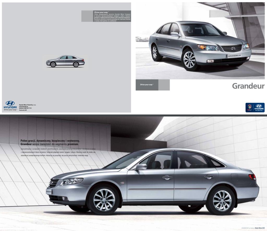 Hyundai Grandeur gaz sedan