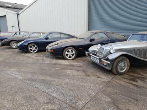 kolekcja samochodów na sprzedaż