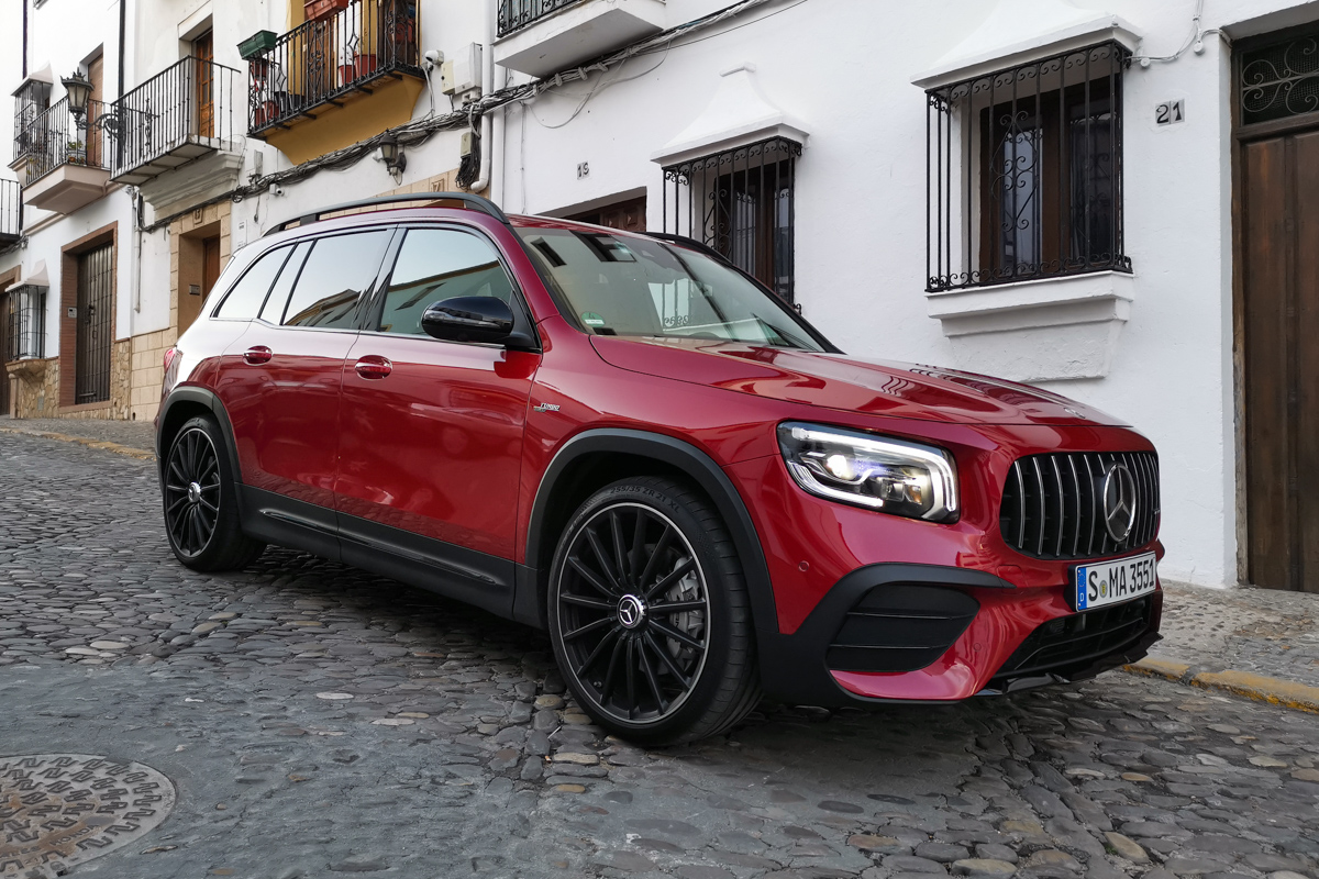 Mercedes GLB test 2020