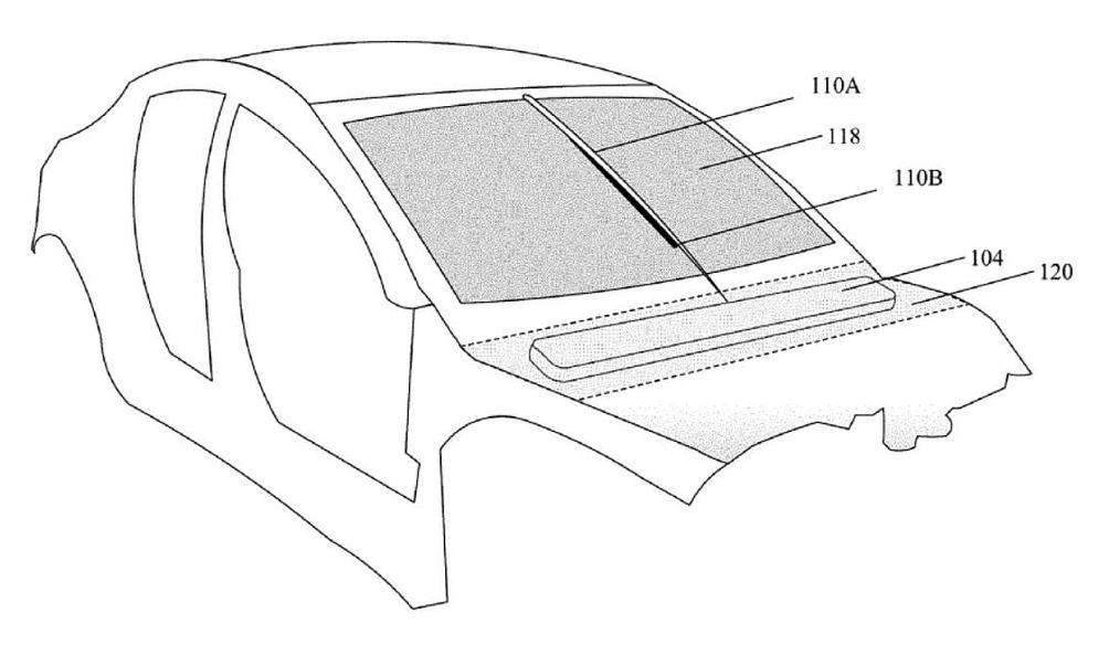 tesla wycieraczki laser