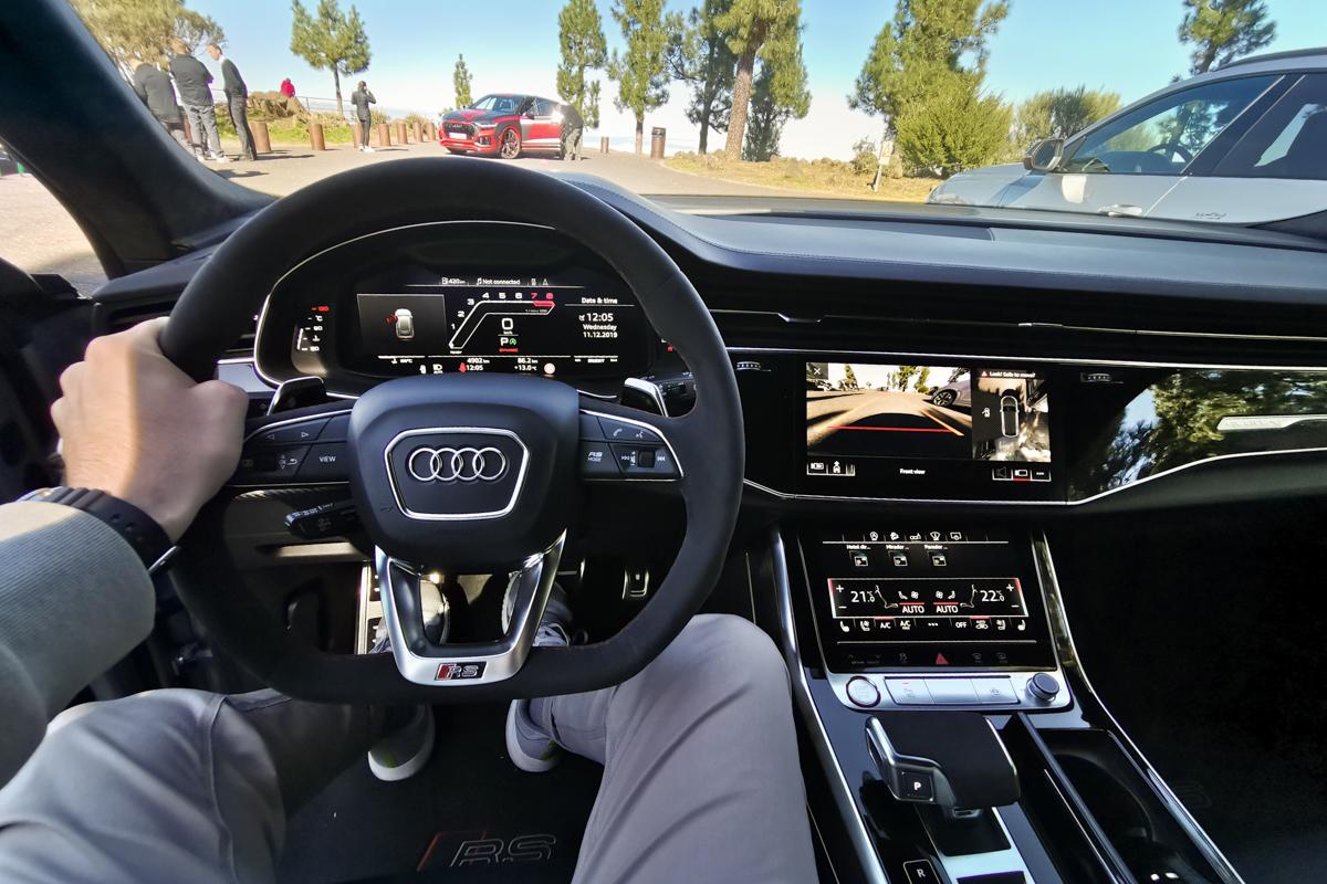 Audi RS Q8 2020 test