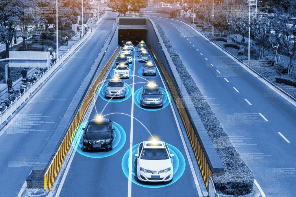 autonomiczne samochody 5G