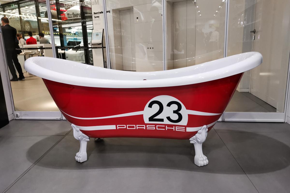 Porsche muzeum relacja