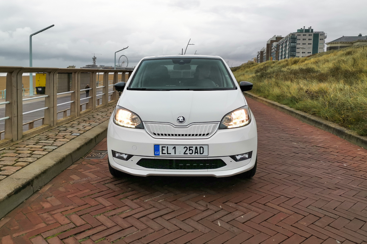 Skoda Citigo iv electric test