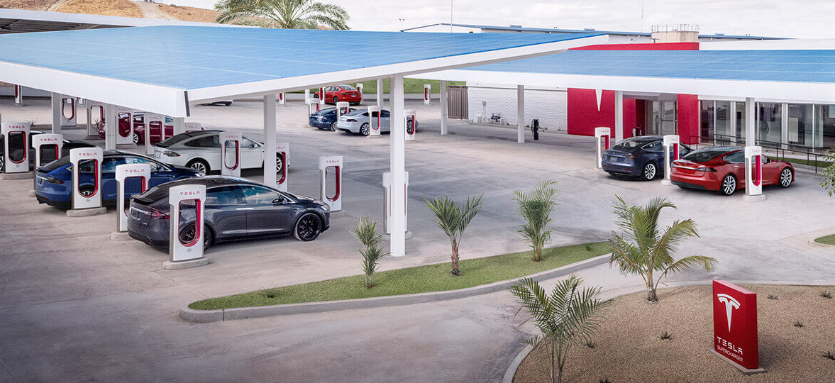 Tesla Supercharger Radom