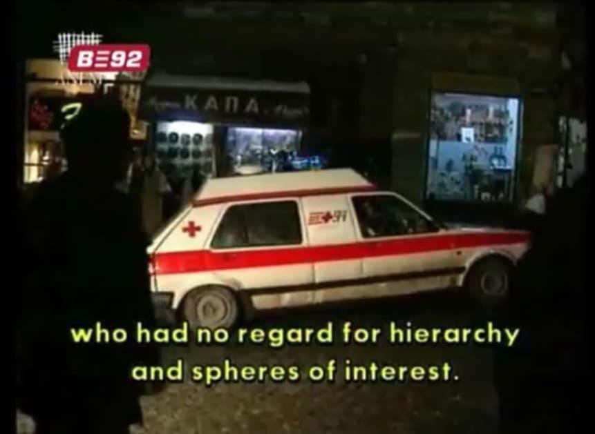 vw golf II ambulans