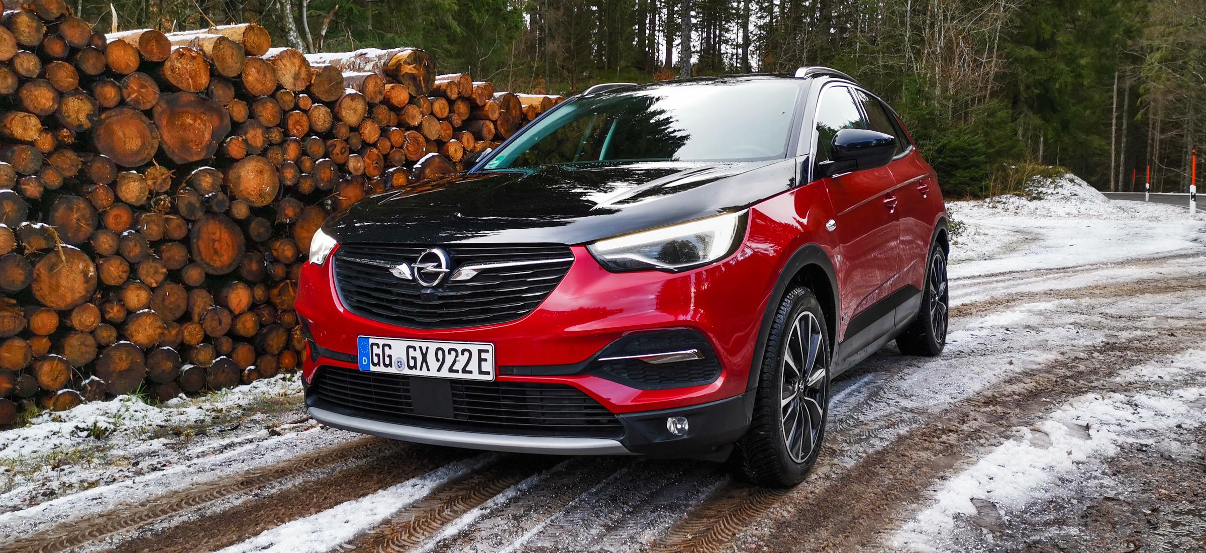 Opel Grandland X Hybrid4 test