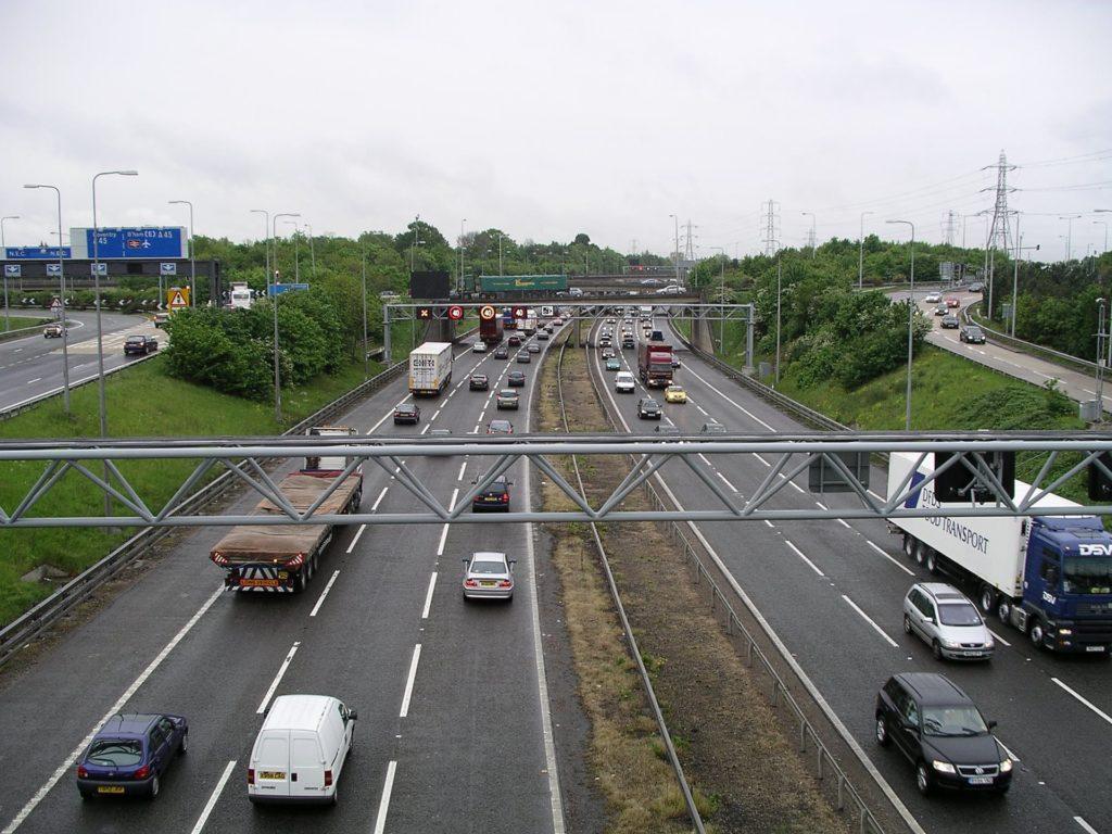 autostrada Wielka Brytania