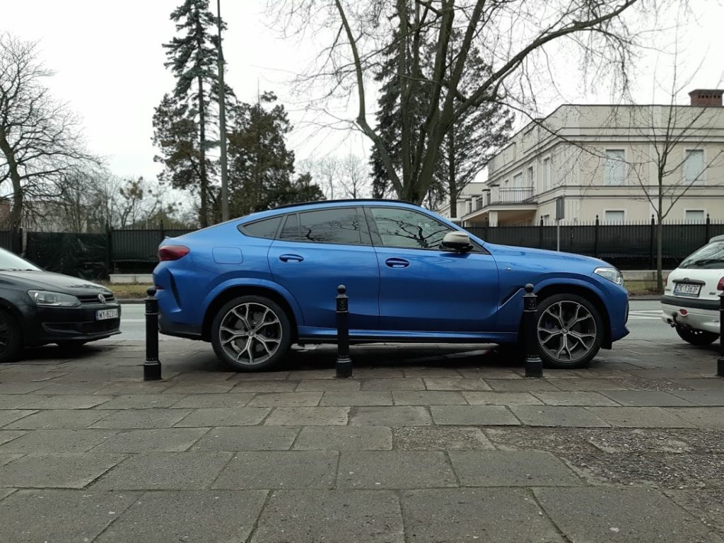 parking assistant plus bmw x6