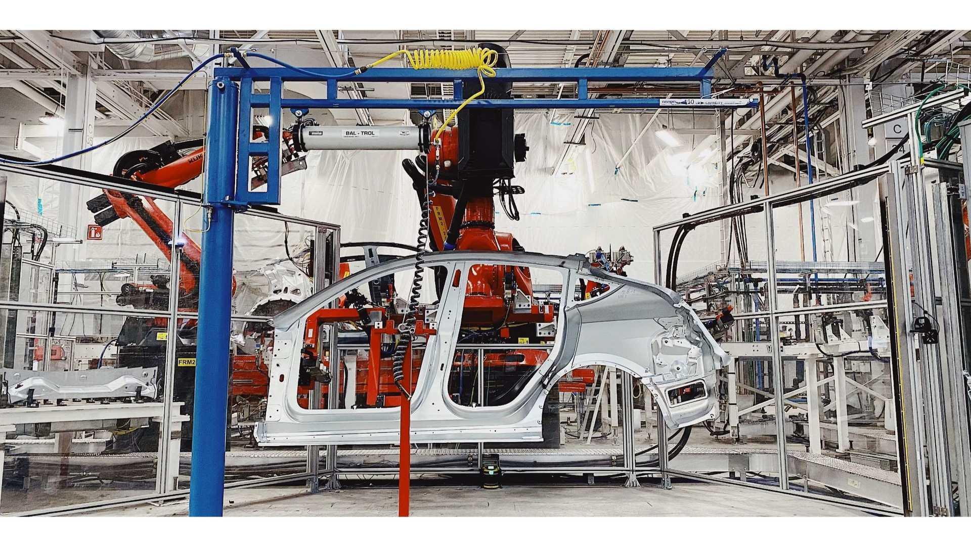 Tesla Model Y produkcja