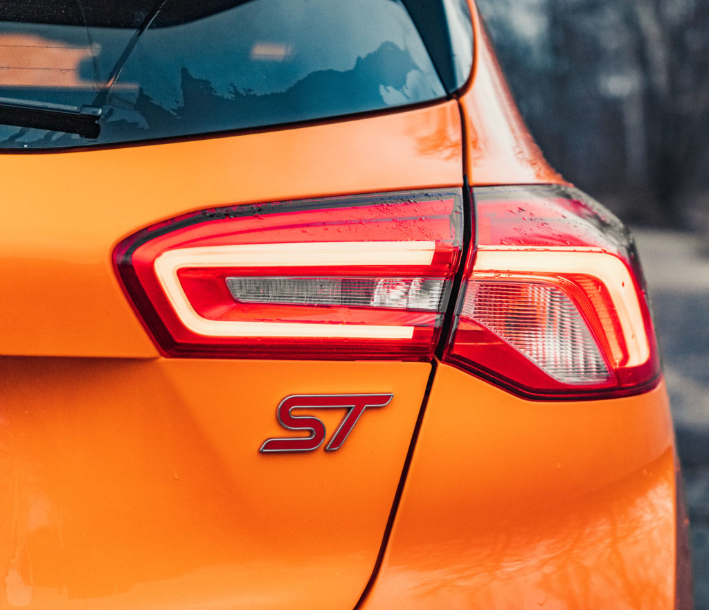 Ford Focus ST 2020 test