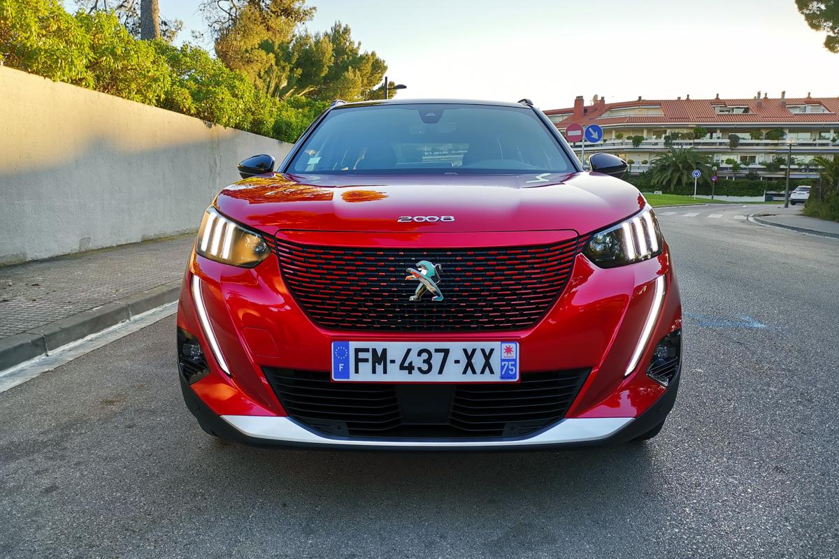 Peugeot e-2008 test