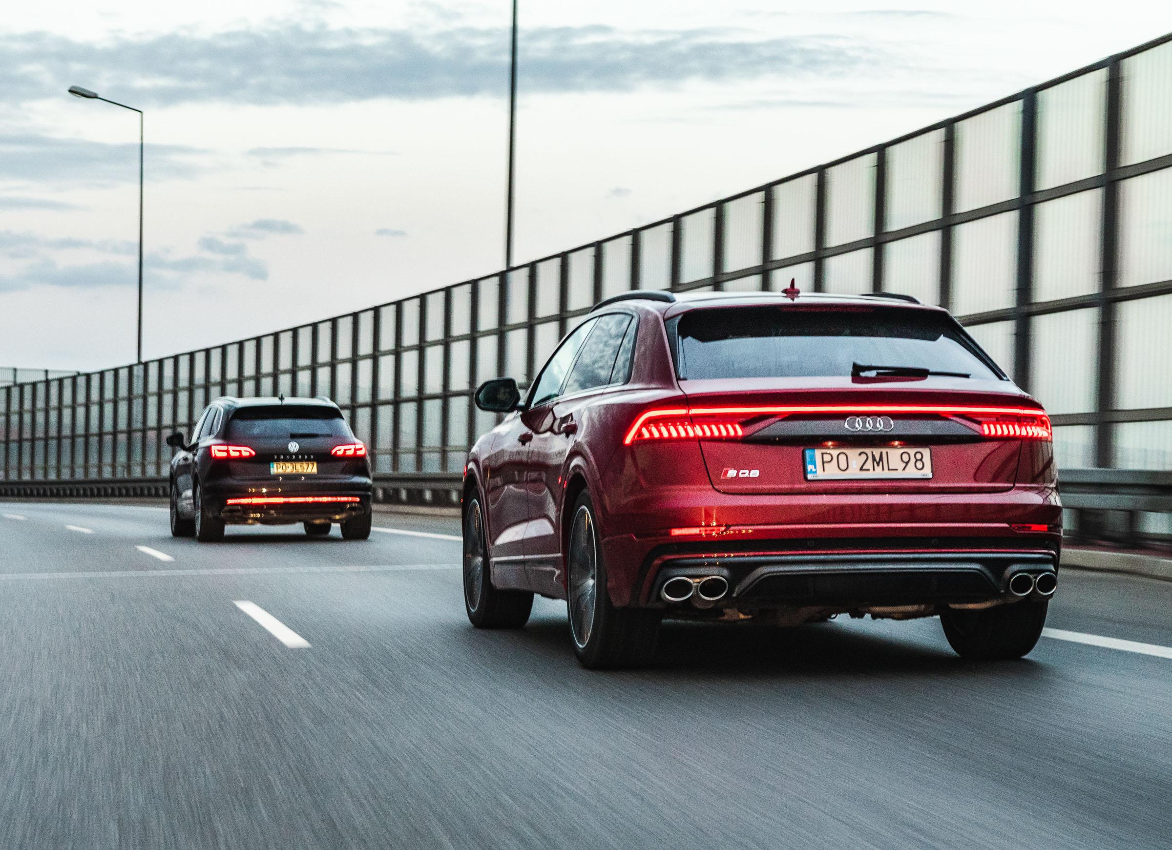 Volkswagen Touareg vs Audi SQ8