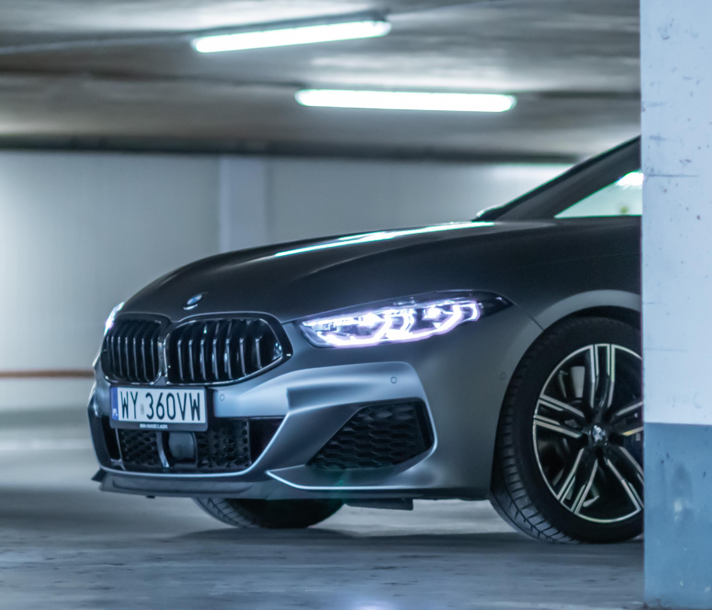 BMW M850i gran coupe test