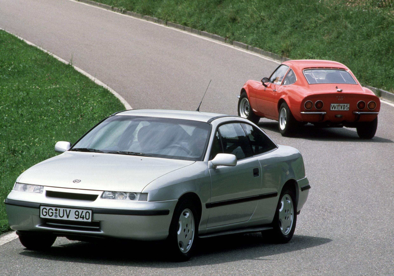 Erhard Schnell Opel Calibra historia