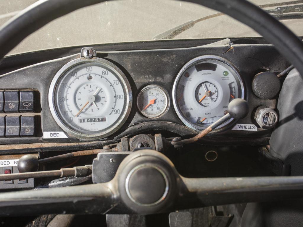 Mercedes Unimog laweta