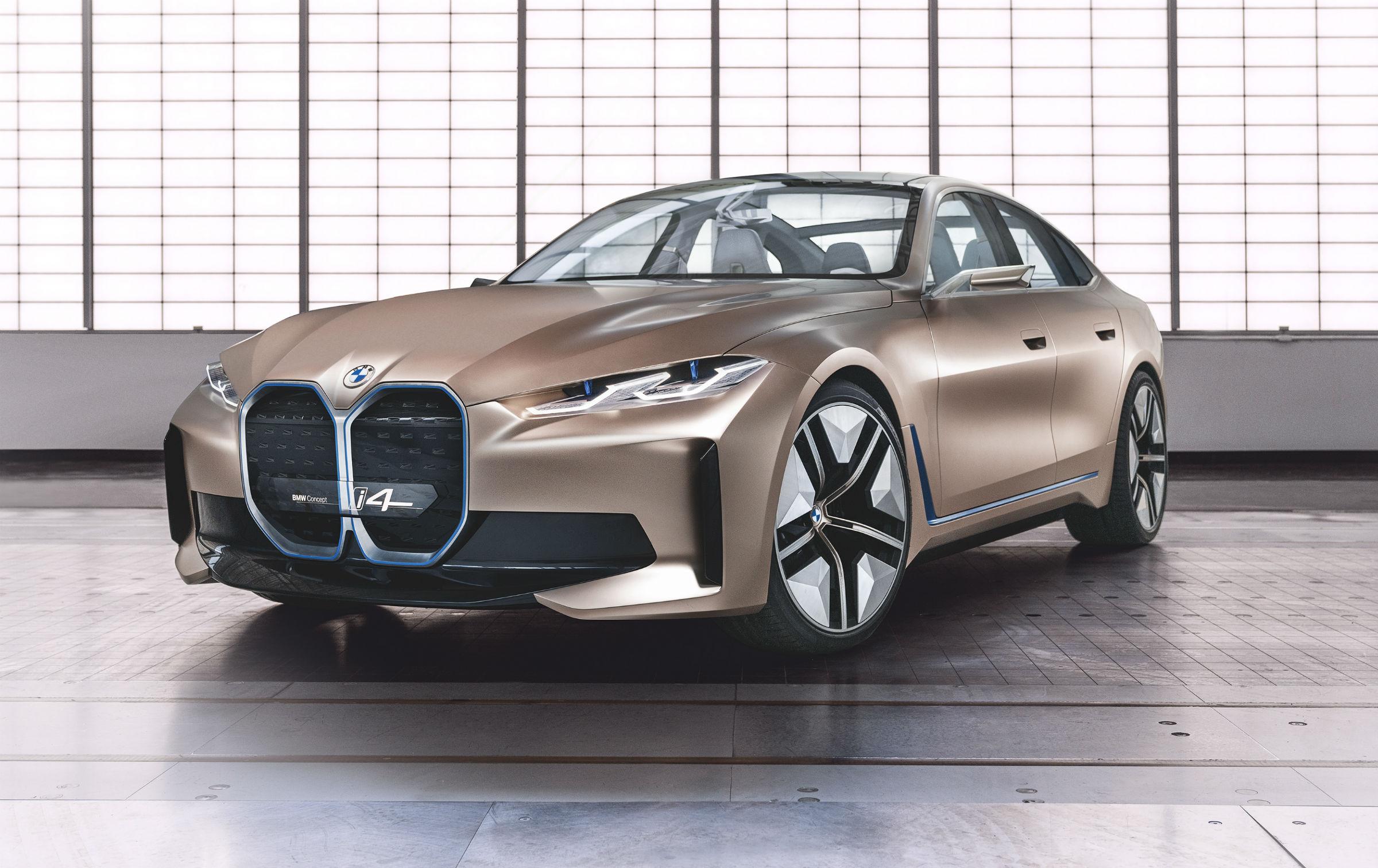 BMW Concept i4 bmw 4 2020