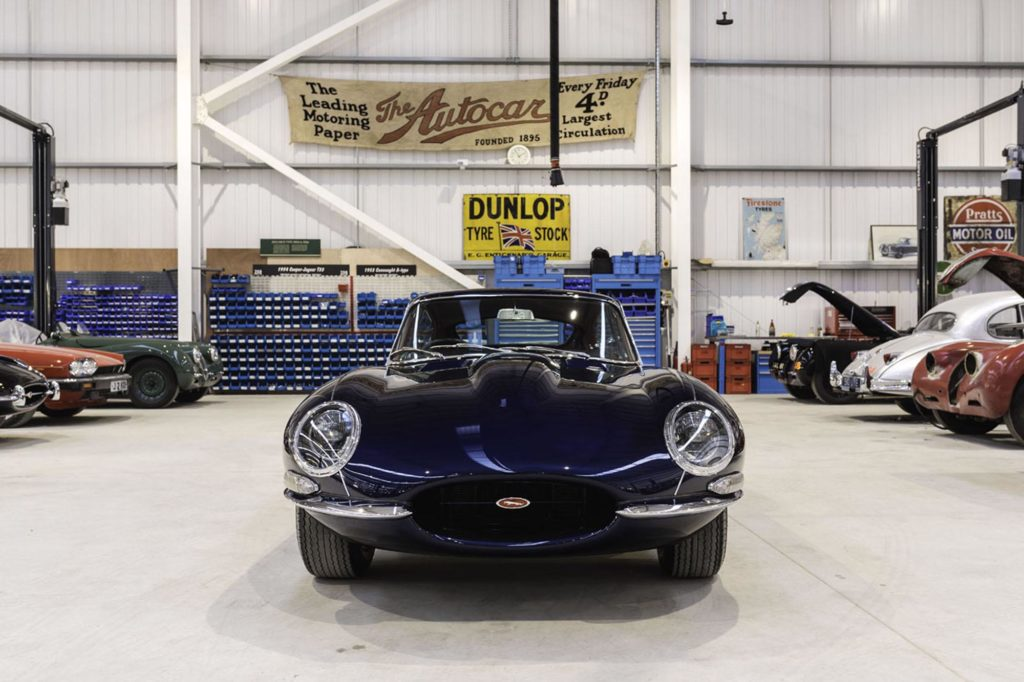 Jaguar E-Type tuning