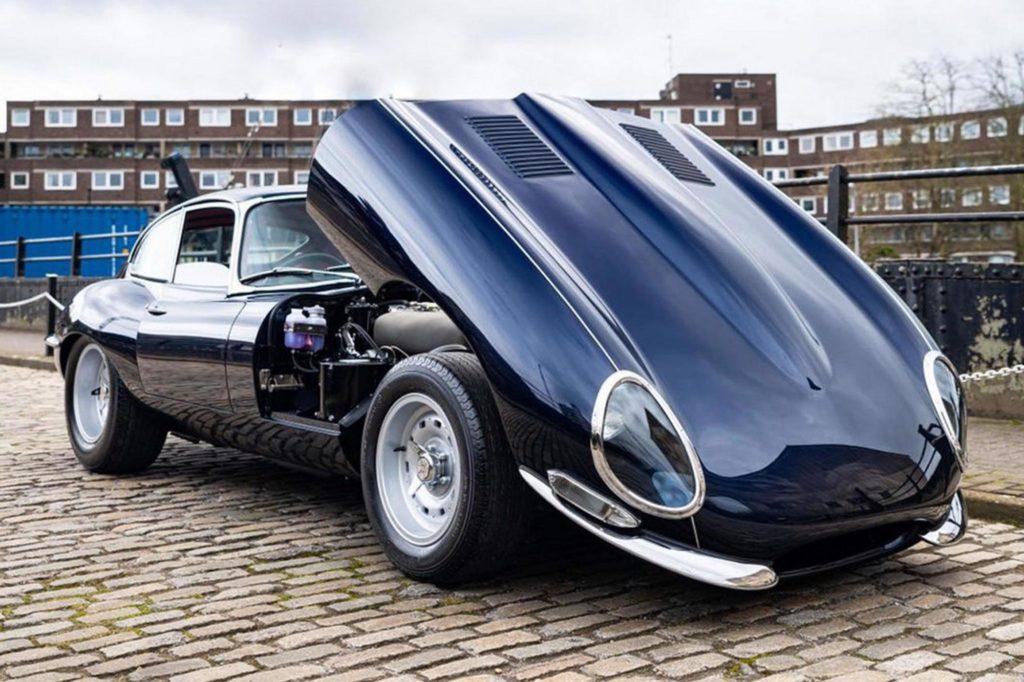 Jaguar E-Type restomod