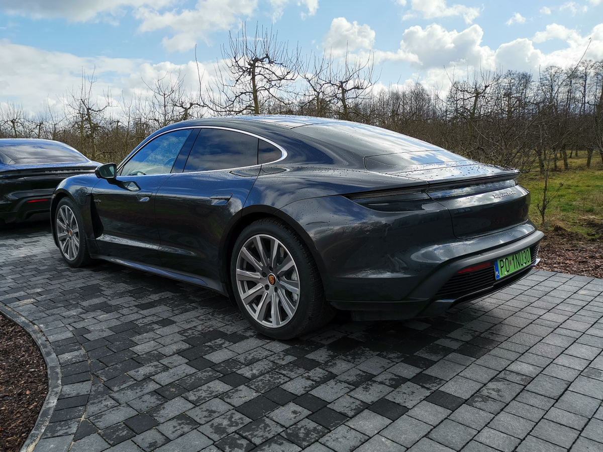 Porsche Taycan test polska 2020