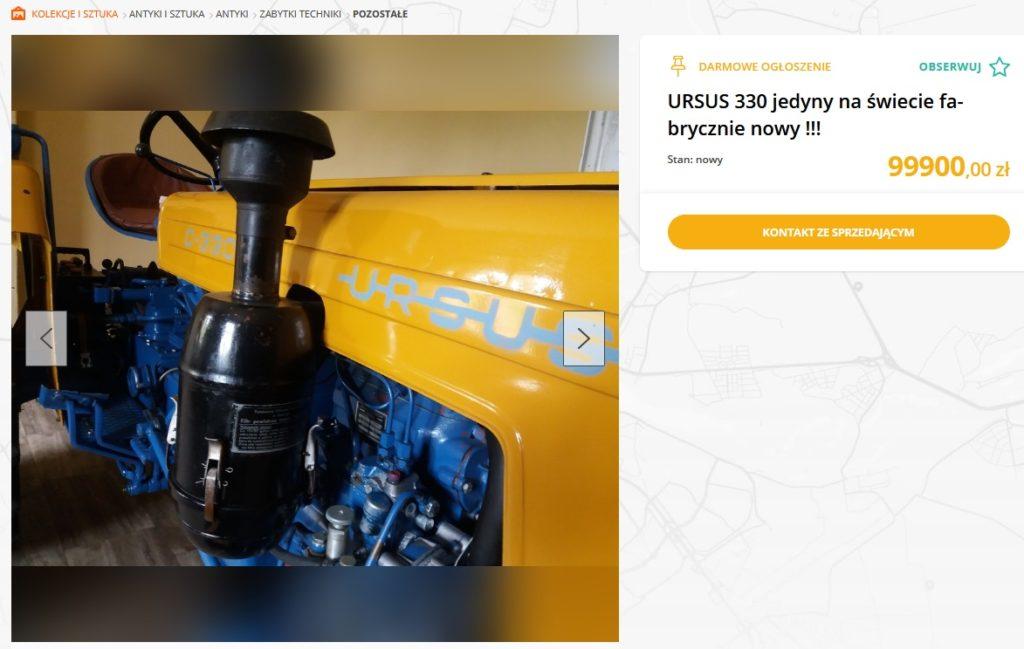 ursus c-330 fabrycznie nowy