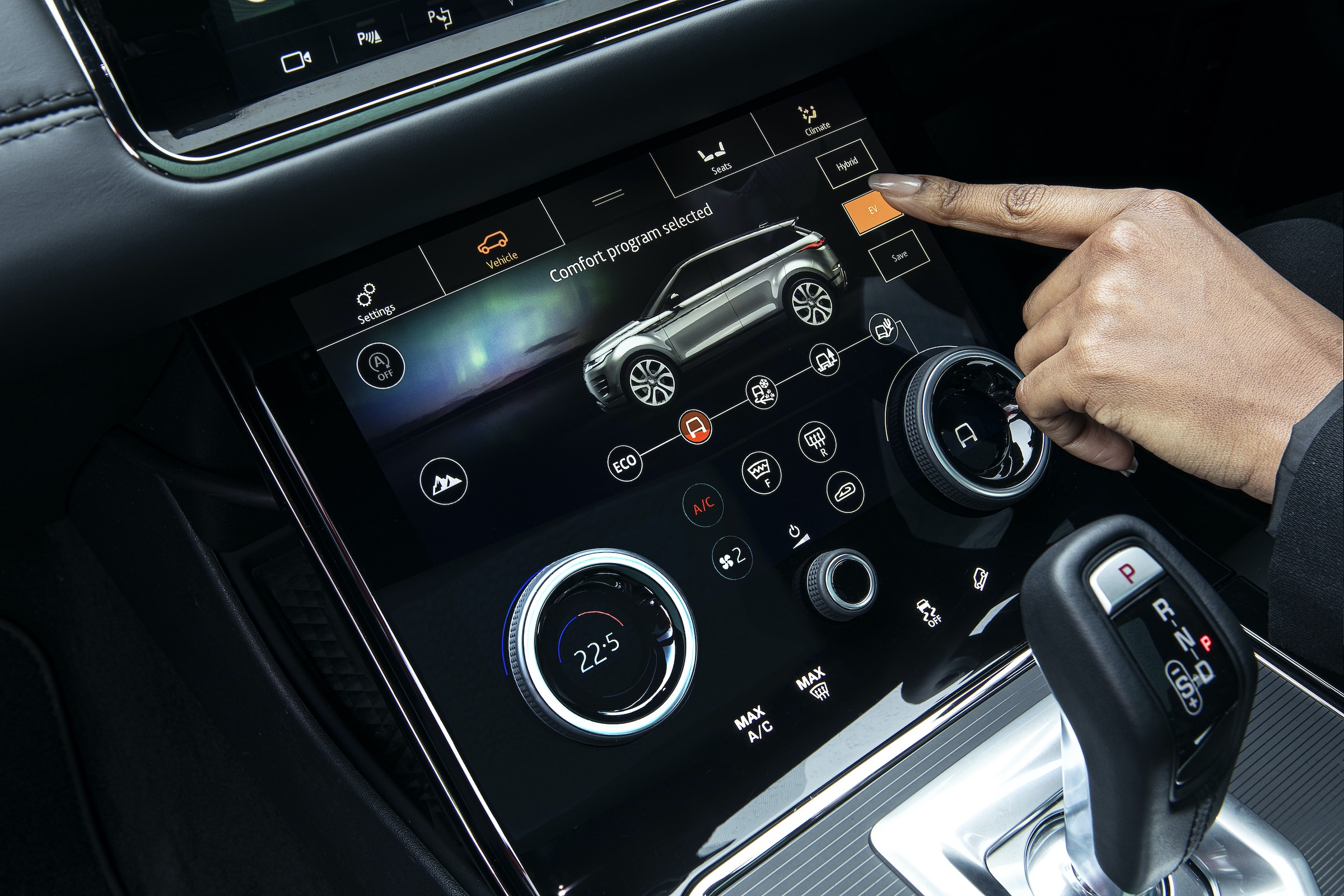 Range Rover Evoque hybryda