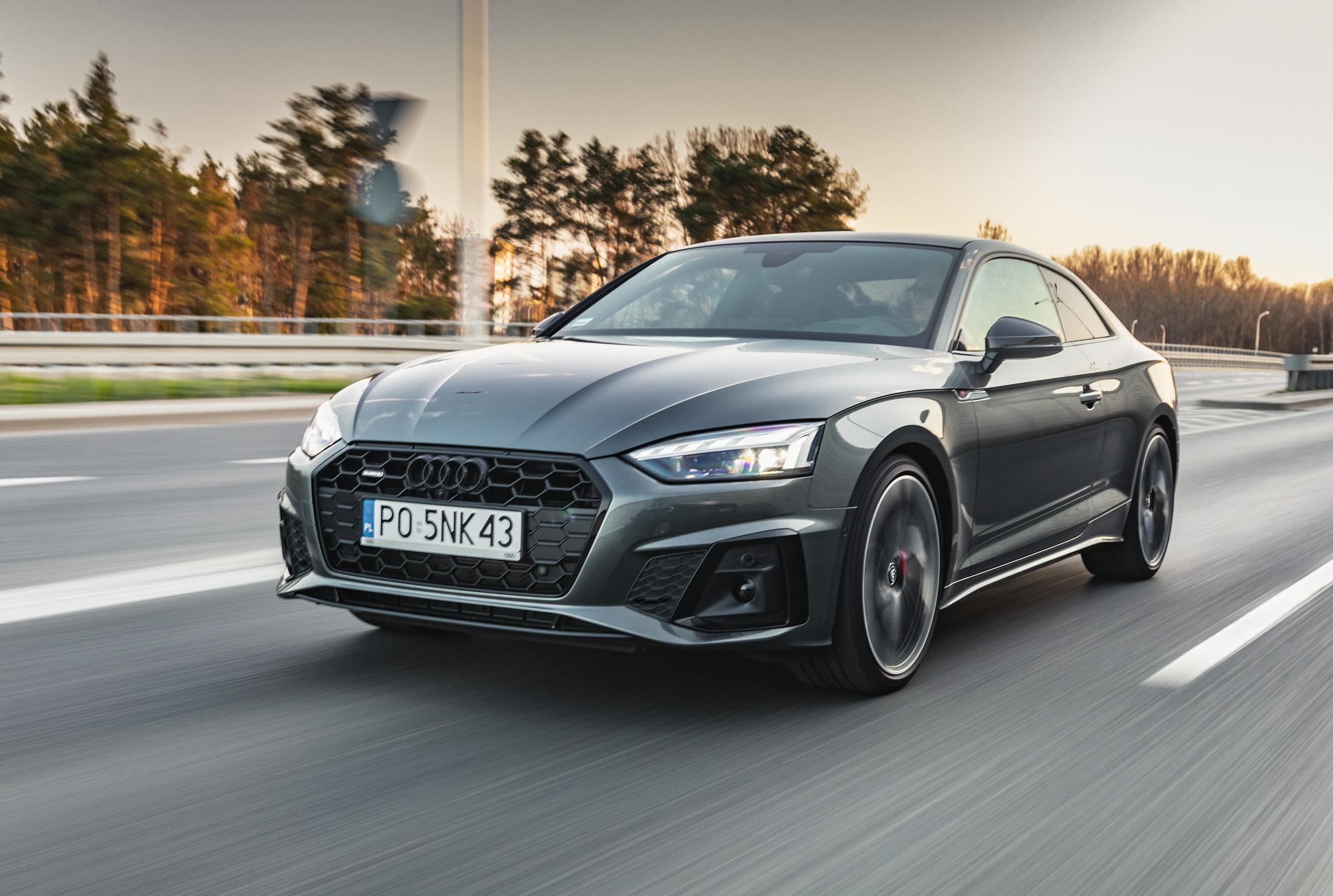 Audi A5 coupe test 2020
