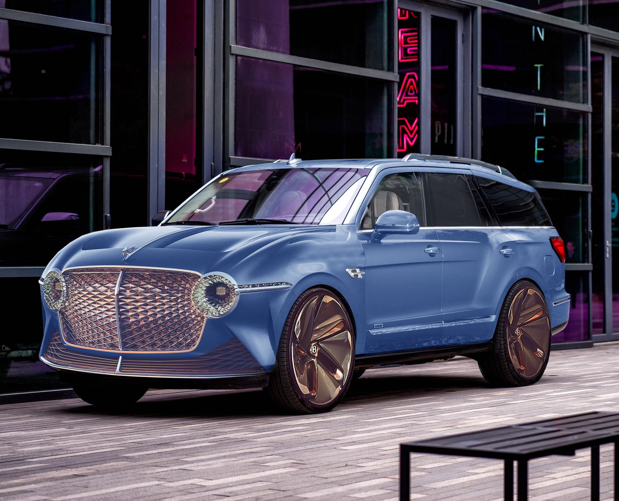 Bentley SUV 2021