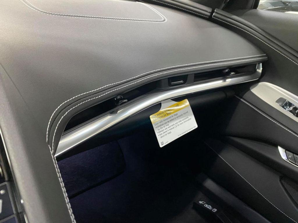 Chevrolet Corvette C8 wnętrze