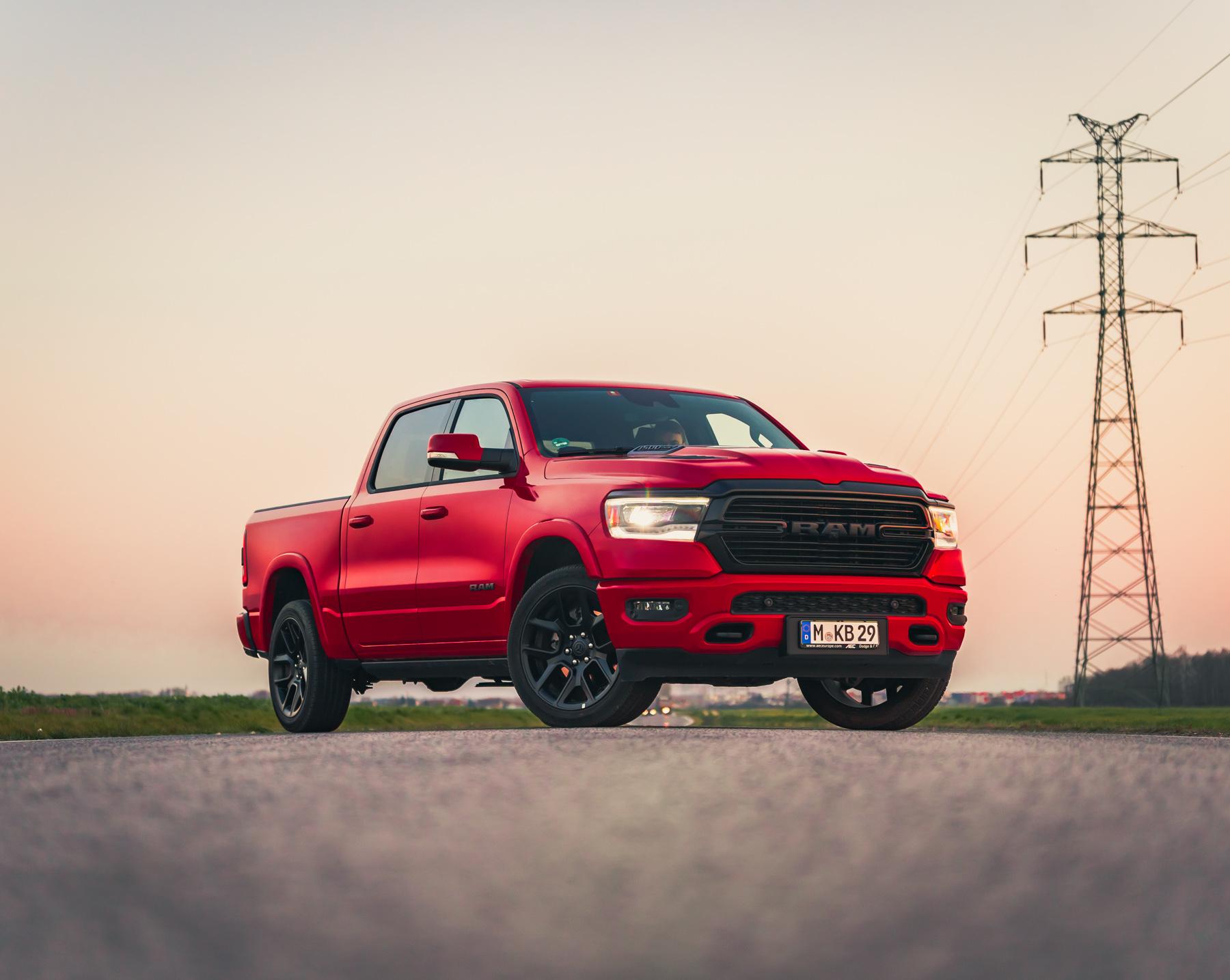 sprzedaż pickupów w USA