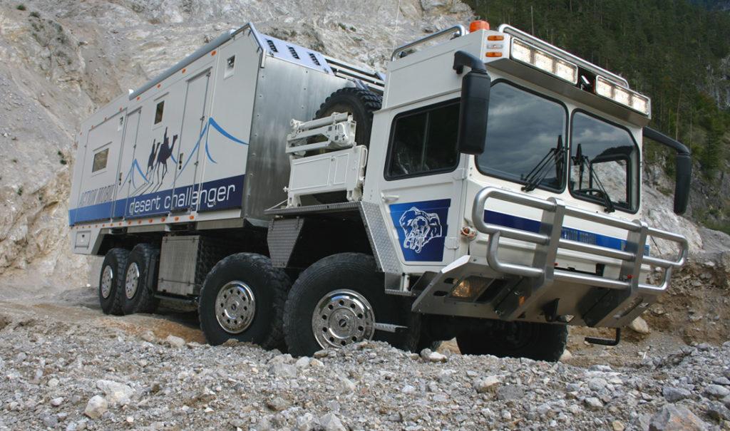 ciężarówka MAN 8x8