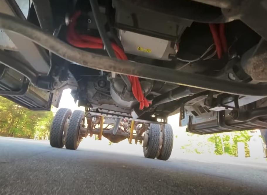 układ napędowy forda po swapie