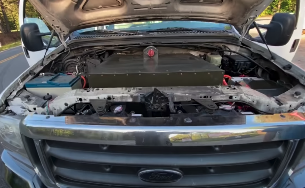 elektryczny ford pickup