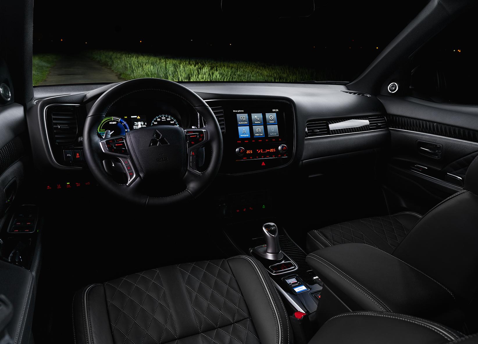 Mitsubishi Outlander PHEV test