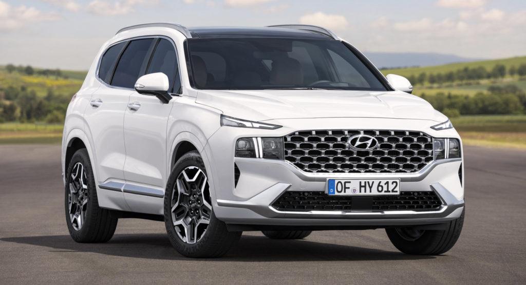 Hyundai Santa Fe lifting