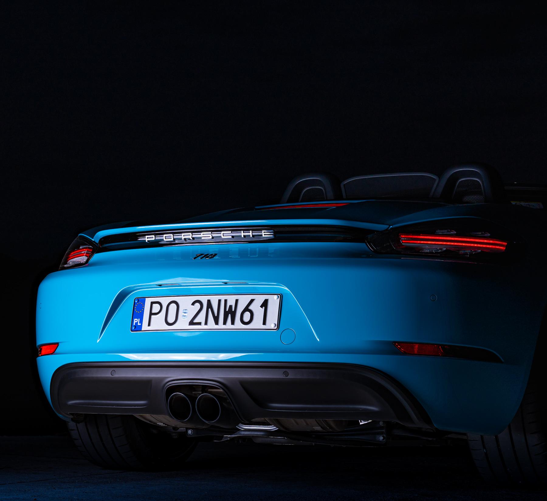 Porsche 718 Boxster silnik