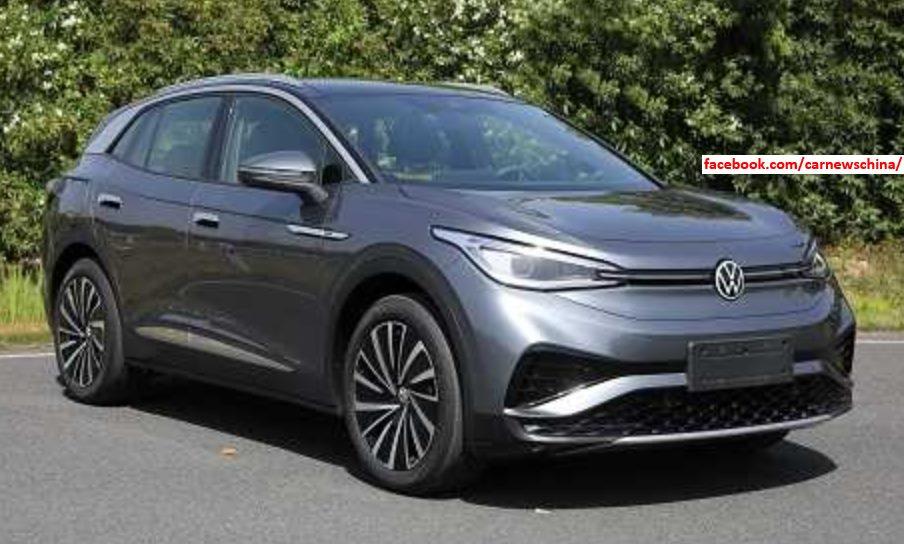 Volkswagen: ID.4 X i ID.4 przyłapane bez kamuflażu w Chinach