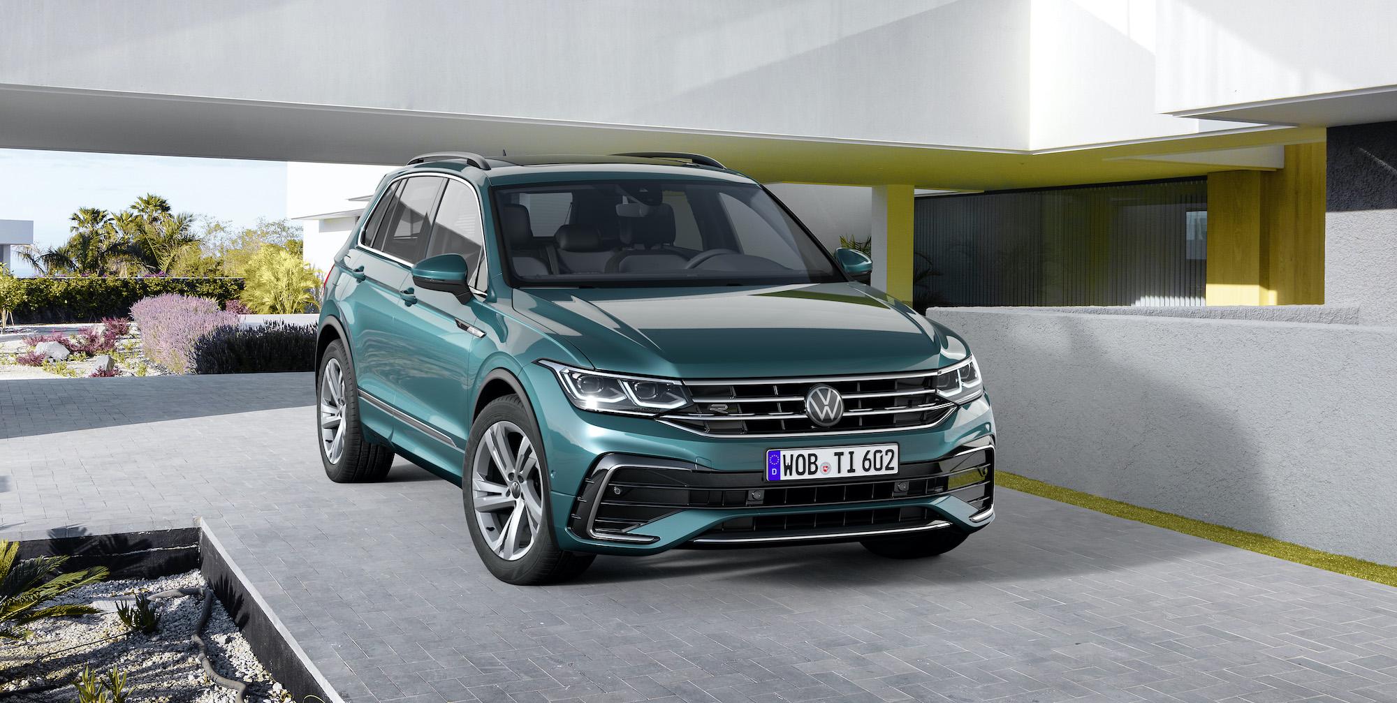 VW Tiguan lifting