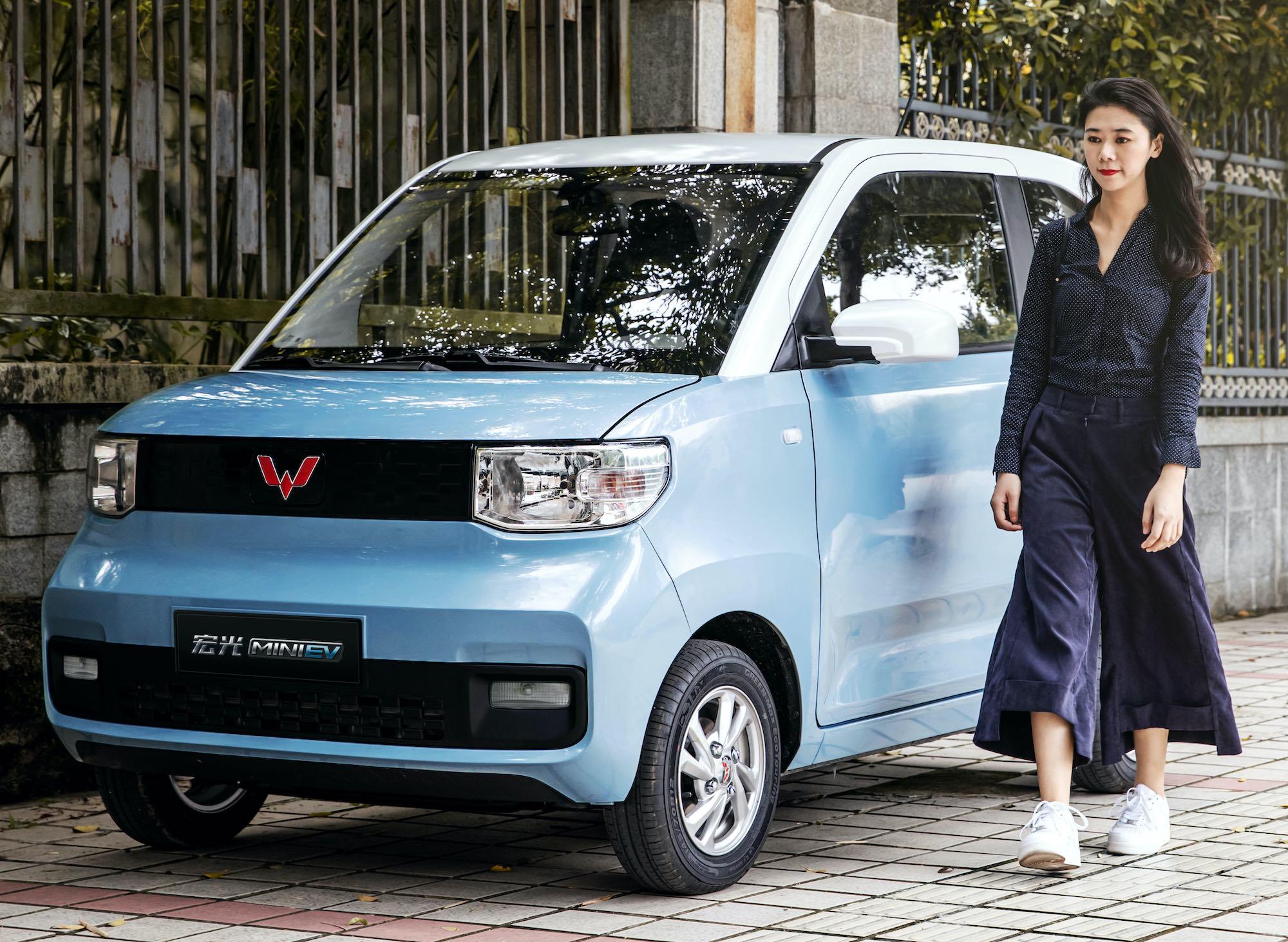 Wuling Hong Guang Mini EVv