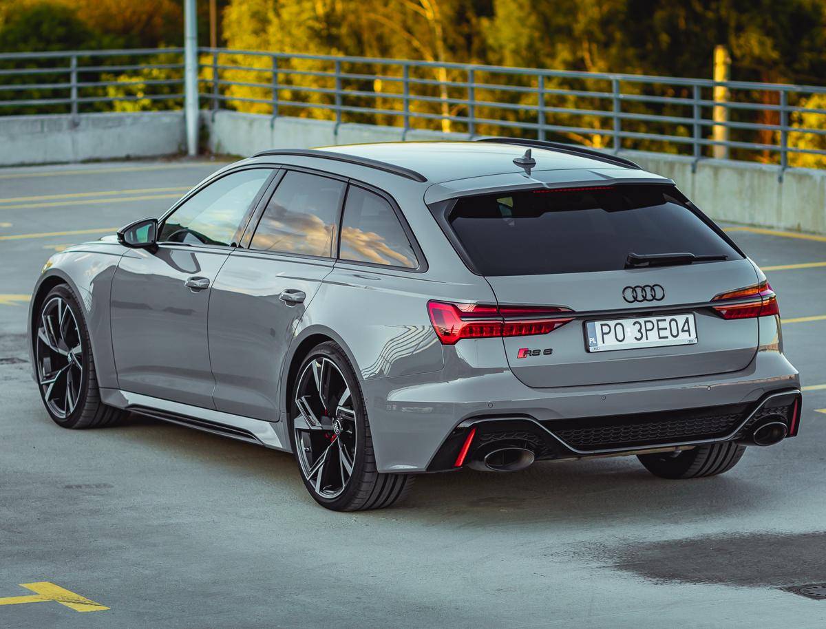 Audi rs6 test 2020