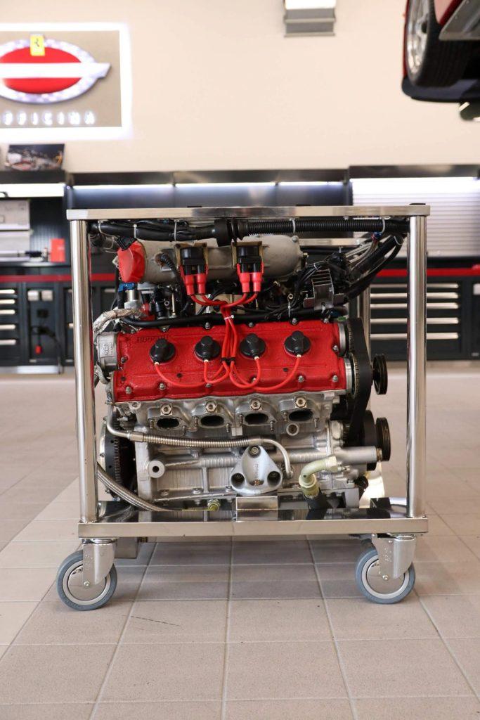 Ferrari F40 silnik