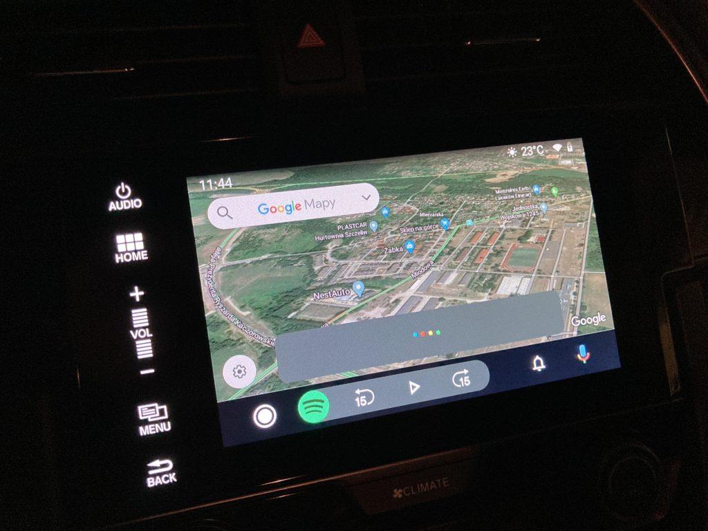 android auto w samochodzie