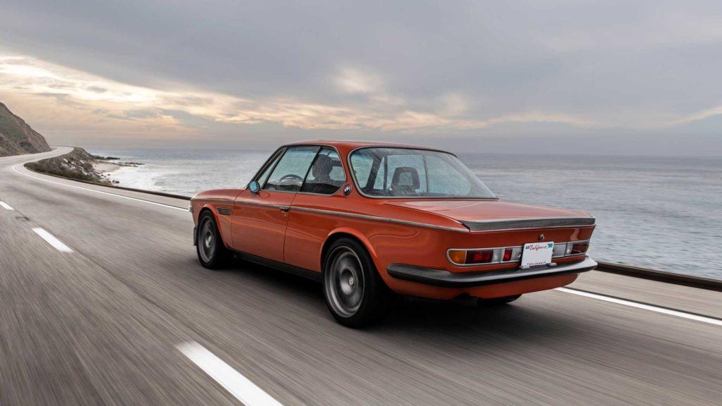 BMW E9 restomod