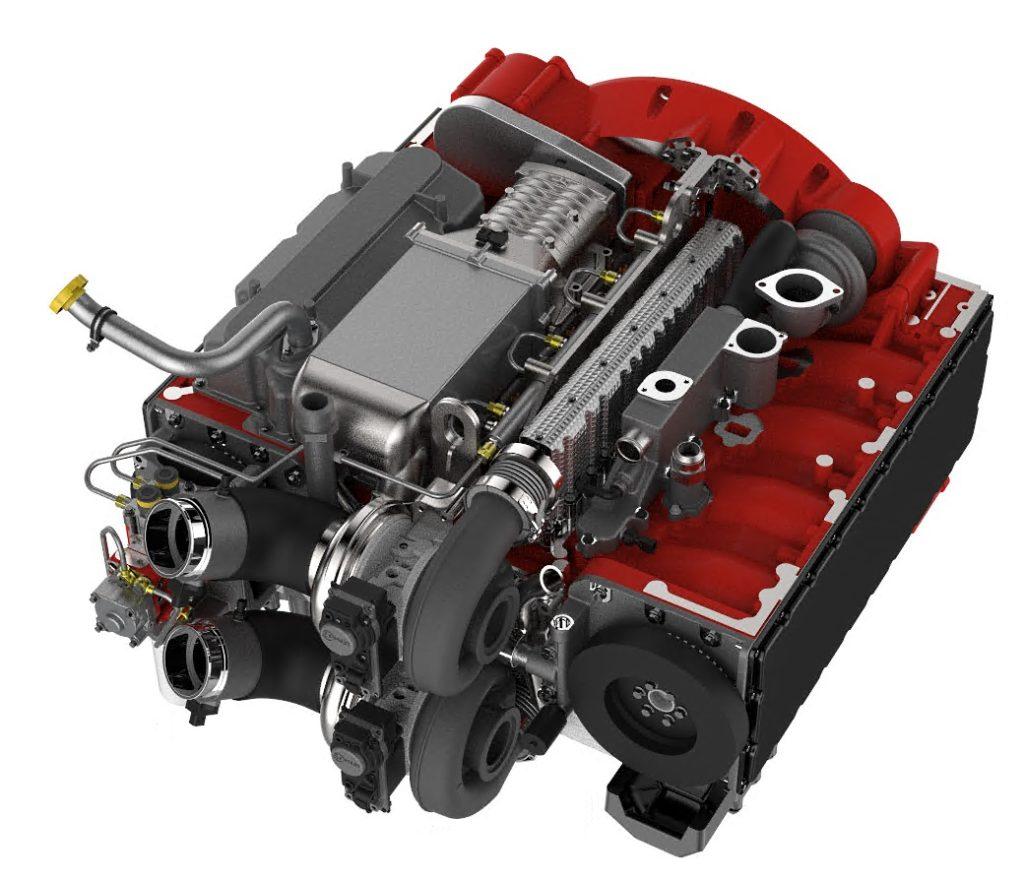 silnik Cummins diesel