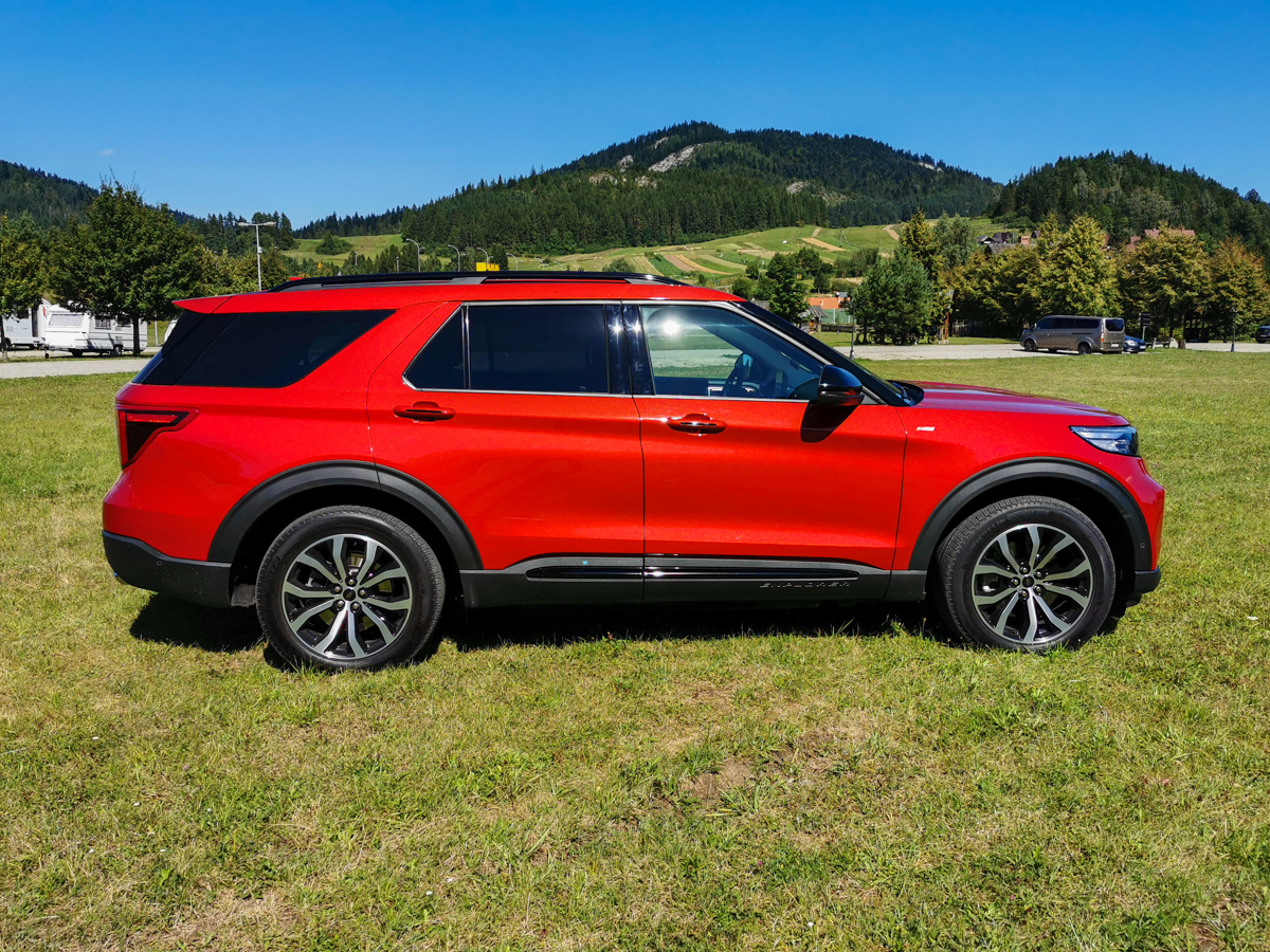 Ford Explorer test